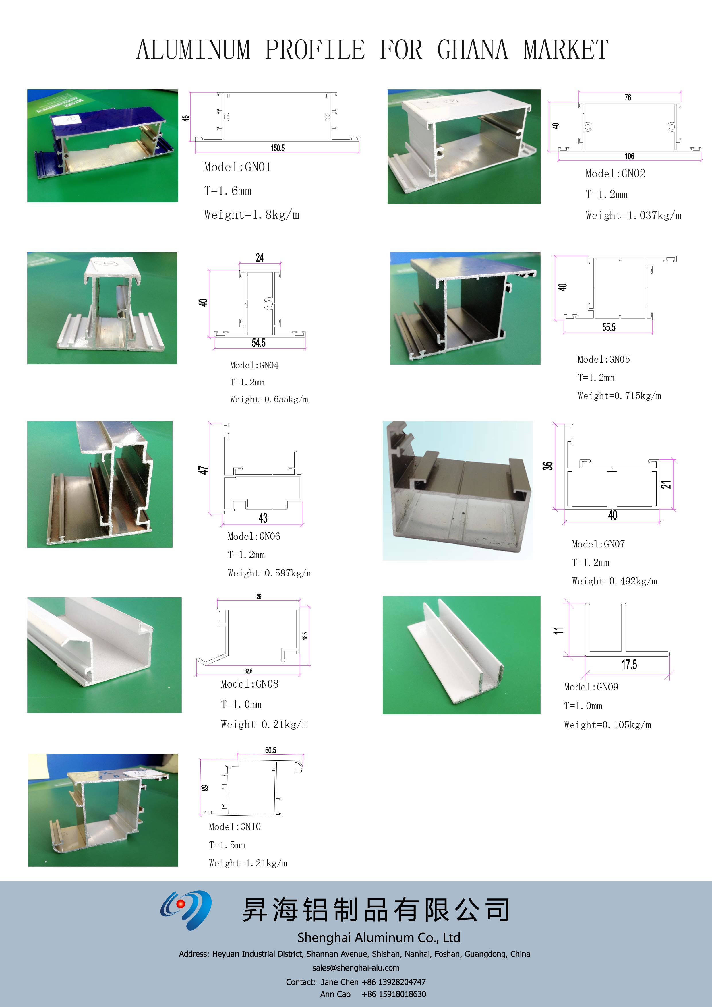 Aluminum Profile Factory And Manufacturer In China